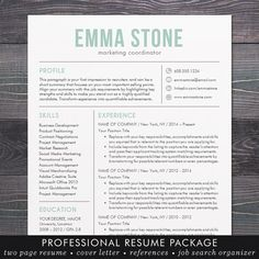 Eye Catching Resume Templates Unique Eyecatching Resume Templateprofessional And Creative