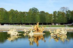 Château de Versailles Le bassin de Neptune - Versailles - France