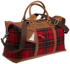 Anyone still searching for my Christmas present?  Brodie Tartan Weekender Bag ~ Pendleton - perfect!