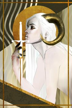 Ace of Swords by mel (dovahcaine)