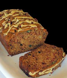 Caramel-Glazed Apple Spice Bread