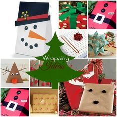 Creative  and Fun Gift Wrapping Ideas | Unique DIY Christmas Gift Wrapping Ideas