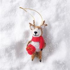 Avon Living Holiday Cheer Woodland Ornament