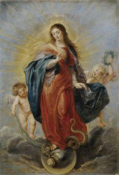 Immaculate Conception, 1628-29; Museo Nacional del Prado, Madrid