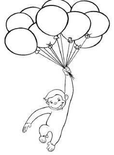 Free Printable Curious George Coloring Pages | Coloring Pages ...
