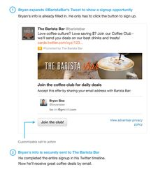 Introducing Twitter's New Marketing Tool: The Lead Generation Card