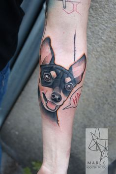#dog #tattoo #dogtattoo
