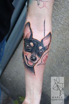 #dog #tattoo #dogtattoo
