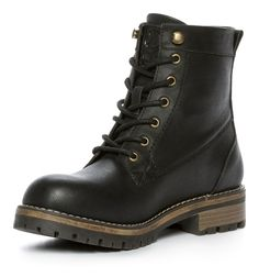 Linear Heavyweight Ankle Boots - Black 300678 feetfirst.com