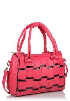Pink Handbag Price: Rs.950