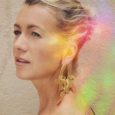 Paige Novick via Instagram - Tibi Earring