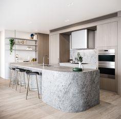 Modern Kitchen Interior 10 Design Commandments For Apartment Furniture Design Home Decor Kitchen, Kitchen Furniture, New Kitchen, Home Kitchens, Kitchen Dining, Furniture Design, Kitchen Ideas, Furniture Stores, Small Kitchens