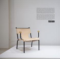 Bola de Latao armchair designed by Lina Bo Bardi. Brazilian Mid-Century modern design available at ESPASSO.