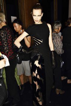 Atelier Versace AW1415 Haute Couture Show Paris Backstage | Sonny Vandevelde