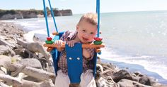Swing low, sweet babies with the Solvej baby and toddler swing