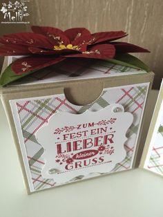 Stampin Up, Weihnachtsstern-Stanze, Box (2) (Kopie)