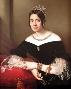 Fanny Preinitsch, ca. 1838 (Giuseppe Tominz) (1790-1866) Location TBD