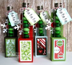 Test Tube Caddy die & You've Been Framed- Christmas die / Taylored Expressions Christmas Booth, Christmas Craft Fair, Christmas Favors, Christmas Paper, Christmas Ideas, Christmas Projects, Xmas, Craft Items, Craft Gifts