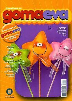Revistas de manualidades Gratis: Revista de goma eva gratis