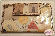 Cosiendo a Mano: Cartera Grande Vintage #DIY #CosiendoaMano #Manualidades #Personalizado #HechoaMano