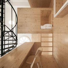 RoomOnTheRoof, Amsterdam, 2015 @i29interiors #interiors #wood