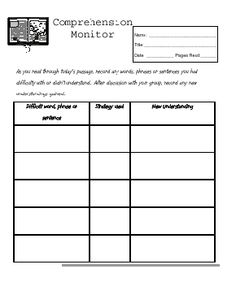 Literature Circle Role Sheets PRINTABLE