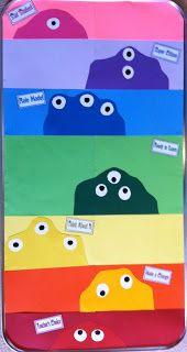 """*Teaching Maddeness*: Monster """"Clip"""" Chart on Oil Pan Classroom Behavior Chart, Behaviour Chart, School Classroom, Classroom Design, Classroom Decor, Behavior Management Strategies, Class Management, Elementary Teacher, Upper Elementary"""