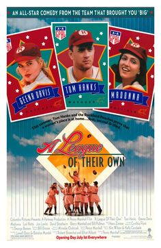 A League of Their Own (1992) 11X17 POSTER NOW 11.25 TODAY ONLY  http://www.movieposter.com/poster/MPW-17448/League_Of_Their_Own.html