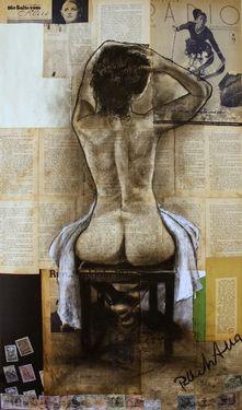 """Saatchi Online Artist Atelier Palluch; Drawing, """"white canvas"""" #art"""