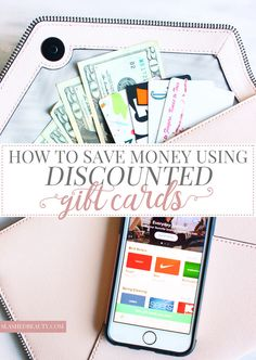 Find out how to use discounted gift cards to save money shopping, and the best app to do it with! | Slashed Beauty #LifeOnRaise ad