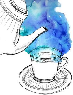 watercolour steam