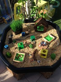 BC Language Arts Oral Language Pet Centre Small World Play @ New Horizons Preschool