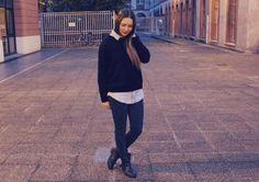 Merci au blog Chic and Clothes / Pantalon NAF NAF