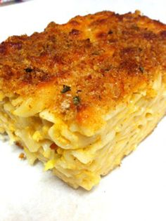 INGREDIENTS:  1 box elbow macaroni 2 eggs 1/2 lb cheddar cheese, grated 28-32 oz. evaporated milk  1 tsp paprika  1/4 green pepper, finely chopped1 onion, fin