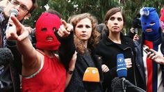 Your Favorite Russian 'Hooligans Pussy Riot Are Crowdsourcing a Biographical… #Celebrity #biographical #crowdsourcing #favorite #hooligans