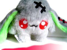 Fluse Zombie Rabbit Kawaii Plush Creep stuffed animal von Fluse123