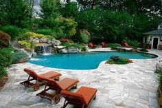 beautiful backyards with pools - Google Search
