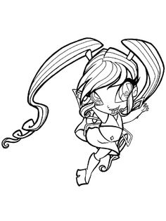 Winx Club Fairy Coloring Page Print This Out Or Color In Online With Our New Machine