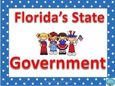 Government: Florida's State Governmentaligns with 4th grade Sunshine State Standardsincludes:12 vocabulary and definition cards that you can fold or separate.4 colorful branches of state government posters6 worksheets for independent practice and formative assessmentsanswer keys