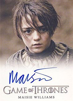 GAME OF THRONES ARYA STARK GLOSSY POSTER PICTURE PHOTO PRINT MAISIE WILLIAMS