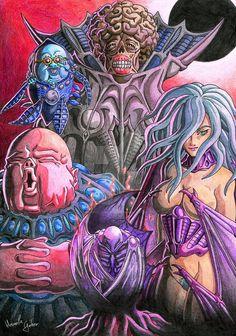 Berserk - GodHand by HomolaGabor on DeviantArt