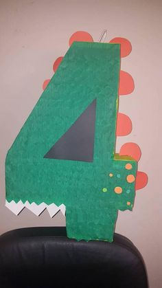 Check out this item in my Etsy shop https://www.etsy.com/listing/580738735/dinosaur-number-pinata
