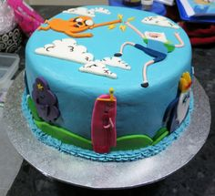 Awesome Adventure Time cake!!!