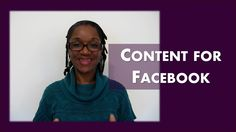 Creating Facebook Content for Your Business