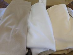 White, cream and nude sheer fabric for arbors