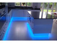 Led Kitchen Lighting - Home Interior Design Ideas Led Kitchen Lighting Kitchen LED Lighting. Küchen Design, Design Case, House Design, Design Ideas, Design Trends, Kitchen Lighting, Home Lighting, Lighting Ideas, Led Kitchen Lights