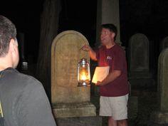 Sleepy Hollow Cemetery lantern tour