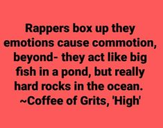 """Coffee's Lyrics from Grits track """"High"""" Toby Mac, Really Hard, Music Mix, Big Fish, Grits, Hard Rock, Hiphop, Tennessee, Hip Hop"""