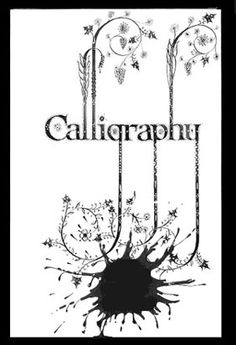 Lettering - Art Lettering - Hand Lettering -Typography - Calligraphy - Vernon Cole -Calligraphy Blot