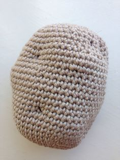 Crocheted Amigurumi Potato for Play or Display by Buttonbeautiful on Etsy
